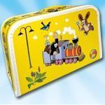 "Großer Koffer Kinderkoffer - der kleine Maulwurf ""Krtek"" 35 cm in gelb"
