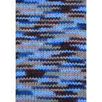 Gründl Lisa Premium Handstrick, Tolles Garn aus 100% Polyacryl, Braun/beige/blau/Color, 32 x 30 x 7 cm, 1330