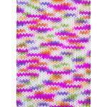 Gründl Lisa Premium Handstrick, Tolles Garn aus 100% Polyacryl, Pink-orange-gelb-Color, 32 x 30 x 7 cm