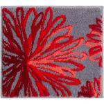 Grund Badematte , Höhe 20 mm, rot, rot-anthrazit