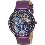 Guess Damen Analog Quarz Uhr mit Leder Armband W0820L3