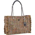 Guess Handtasche Cessily Tweed Tote Nutmeg Multi (12.9 Liter)