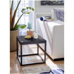 Guido Maria Kretschmer Home&Living Couchtisch Voorst, aus massiver Eiche und Metallgestell schwarz Couchtische Tische Möbel sofort lieferbar
