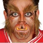 Guirca Fiestas GUI11553 - Bart und Augenbrauen Werwolf