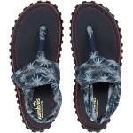 Marineblaue Gumbies Zehentrenner für Damen für den Sommer