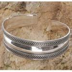 Guru-Shop Armreif »Boho Silber Armreifen, indische Armspange -..«