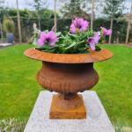 Gusseisen Blumentopf - Garten Vase Jardiniére