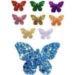 Haarclip / Haarspange Modell »Butterfly« rot