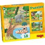 HABA Puzzles Tiere, bunt
