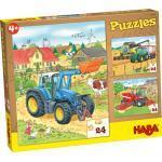 HABA Puzzles Traktor und Co., bunt