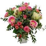 Hagebau, Blumenstrauß Rose, Eukalyptus, Ø 35-40 cm