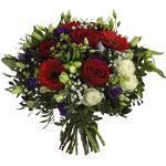 """Hagebau, Blumenstrauß Saisonale Blumen """"Red Passion"""", Ø 37-39 cm"""