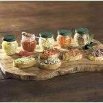 Hagen Grote Bruschetta Set, 5 Gläser à 90 g, aus Süditalien, rein natürliche Zutaten, 5 verschiedene Sorten aus mediterranem Gemüse, ein Hochgenuss auf geröstetem Brot