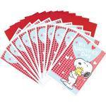 Hallmark Peanuts Valentinstagskarten, Snoopy und Woodstock, 10 Valentinstagskarten mit Umschlägen