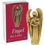 """Handschmeichler """"Engel der Liebe"""" Devotionalie Original Bronze Handarbeit Kunstverlag Maria Laach 801116/7"""