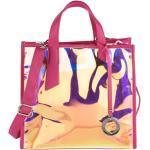 Handtasche Emma & Kelly pink/metallic