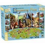 Hans im Glück–Carcasonne Plus, inkl. das Spiel Standard und 11Erweiterungen (bgcarplus3)