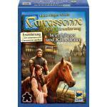 Hans im Glück Carcassonne 1. Erweiterung Wirtshäuser und Kathedralen HIGD0101