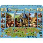 Hans im Glück Familienspiel Strategiespiel Carcassonne Big Box 2017 HIGD0109