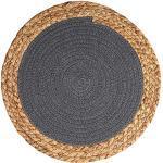 HAOXIU Kratzmatte Katzenteppich, Kratzmatte für Katzen, Runder Baumwollfaden Verschleißfest Kratzmatte, Schützt Teppiche und Sofas, 36cm
