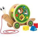 Hape Nachziehspielzeug Schnecke aus Holz