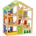 Hape Vier-Jahreszeiten-Haus möbliert 35tlg E3401