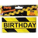 Happy Birthday Absperrband