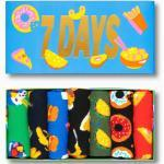 Happy Socks Tagessocke Crew 7 Tage Essen Geschenkbox 7er