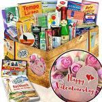 Happy Valentinesday / Geschenk Frau / DDR Spezialitäten Ostpaket