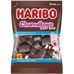 Haribo Chamallows Soft-Kiss, Schaumzucker mit Schokoladenüberzug, 200g