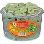 Haribo Fruchtgummi - Saure Apfelringe, 150 Stück (5,62 € pro 1 kg)