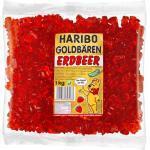 Haribo Goldbären Sortenrein Erdbeer 1000g Beutel 1000g