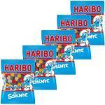 Haribo Schlümpfe, 5er Pack, Gummibärchen, Weingummi, Fruchtgummi, Vegetarisch, Im Beutel, Tüte