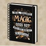 Harry Potter Magic Wands Notizbuch - Harry Potter