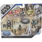 HASBRO Star Wars Mission Fleet The Mandalorian/The Child Cara Dune/IG-11 Stormtrooper Actionfiguren, Mehrfarbig