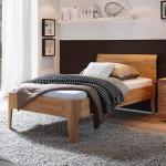 Weiße Hasena Betten geölt aus Massivholz 100x200