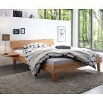 HASENA Massivholzbett Wood-Line 180 x 200 cm Holz Braun
