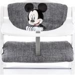 Hauck Hochstuhlauflage & Sitzverkleinerer - Disney Deluxe - Mickey Grey + 0,72€ Cashback auf Deine nächste Bestellung
