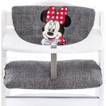 Hauck Hochstuhlauflage & Sitzverkleinerer - Disney Deluxe - Minnie Grey + 0,72€ Cashback auf Deine nächste Bestellung