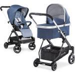 Hauck Kombi-Kinderwagen Apollo - inkl. Sportwagen und Babywanne für Neugeborene - Denim inkl. Gratis Mobilitätsgarantie + 13,50€ Cashback auf Deine nächste Bestellung