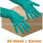 Haushaltshandschuhe Vileda Der Vielseitige S, 50 Stück im Karton, Chemikalienbeständiger Mehrweghandschuh