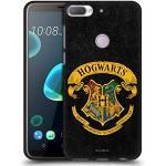 Head Case Designs Offizielle Harry Potter Hogwarts Kamm Sorcerer's Stone I Schwarze Soft Gel Handyhülle Hülle Huelle kompatibel mit HTC Desire 12 Plus