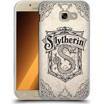 Head Case Designs Offizielle Harry Potter Slytherin Pergament Sorcerer's Stone I Soft Gel Handyhülle Hülle Huelle kompatibel mit Samsung Galaxy A5 (2017)