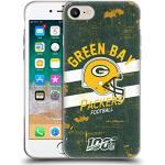 Head Case Designs Offizielle NFL Helm Verzweifelter Look 100ste 2019/20 Green Bay Packers Soft Gel Handyhülle Hülle Huelle kompatibel mit Apple iPhone 7 / iPhone 8 / iPhone SE 2020