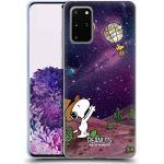 Head Case Designs Offizielle Peanuts Nebelfleck-Ballon Woodstock Snoopy Raumcowboy Soft Gel Handyhülle Hülle Huelle kompatibel mit Samsung Galaxy S20+ / S20+ 5G