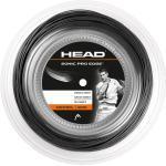 Head Sonic Pro Edge schwarz 200 Meter Rolle