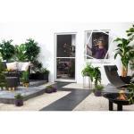 Hecht Fensterbausatz flächenbündig Compact 100x120 cm in Weiß (28,99 € pro 1 stk.)