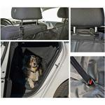 heimtexland ® Auto Schondecke Hundedecke Schonbezug Rückbank Kofferraum Abwaschbar 145x150 Typ659