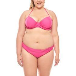 Heine Bügel-Bikini »heine ausgefallene Bademode Bademode Push-Up Neckholder Bikini große Oberweite D-Cup Pink«