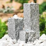 "Heissner Garten/Terrassen Brunnen Granit ""Neptun"", grau"